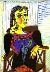 Portrait of Dora Maar (1937)